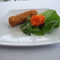 kotlet de volaille słoneczne tarasy restauracja gry bów